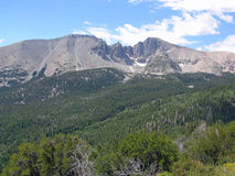 Wheeler Peak no parque nacional da grande bacia, Nev Imagem de Stock