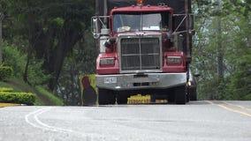 18 Wheeler on Rural Road