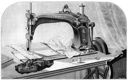 Wheeler & Wilson Sewing Machine Royalty Free Stock Photos