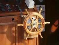 Wheelhouse (flying bridge, Bridge of a ship) Royalty Free Stock Images