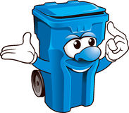 Wheelie bin stock images
