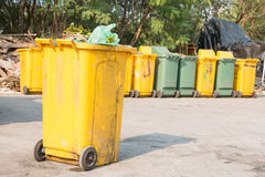 Wheelie bins Royalty Free Stock Photo