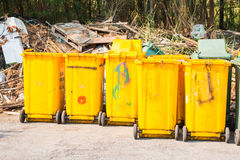 Wheelie bins Stock Images