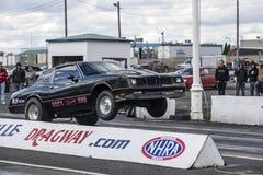 Wheelie del coche de Chevrolet Fotografía de archivo libre de regalías