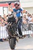 Wheelie Narcis Roca стоковое фото