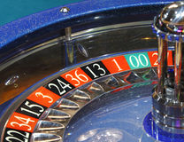 Wheell de la ruleta del casino Fotos de archivo