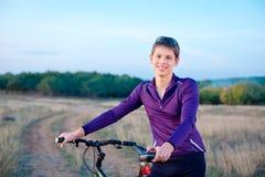 Wheelman велосипедиста Стоковое Фото