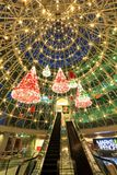 WheeLock Place Orchard Road Singapore. Christmas decor at Wheelock Place Royalty Free Stock Image