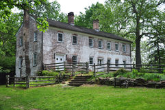 The Wheelright Shop. One of the many restored buildings to be found in the historic village at Allaire State Park, NJ, USA Royalty Free Stock Image