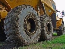 Wheels 003. Wheels of a heavy truck. Okt. 06 stock photos