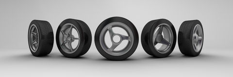 Wheels Royalty Free Stock Photography