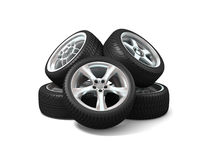 Wheels Stock Photography
