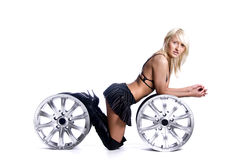 Wheels Royalty Free Stock Image