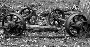 Wheels and axles  Stock Image