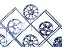 Wheels bilen Royaltyfri Bild