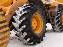 Wheels  building   mechanism Royalty Free Stock Image