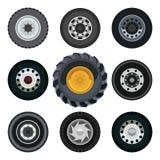 Wheels cars stock illustration