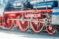 Wheels, chassis, railway Royalty Free Stock Images