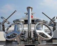 Wheels on deck Royalty Free Stock Photo