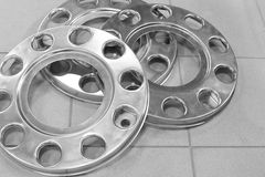 Wheels disk protection Royalty Free Stock Photos