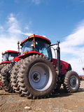 Wheels on farm equipment Royalty Free Stock Photos