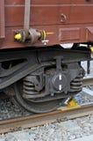 Wheels freight wagon Stock Image