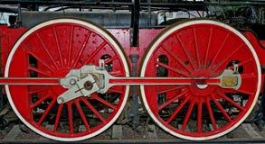 Wheels of historic train Stock Photography