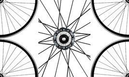 Wheels and hub Stock Photography