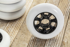 Wheels for inline skating Stock Image