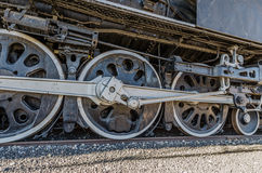 Wheels on a Locomotive Royalty Free Stock Photos