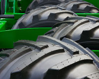 Wheels. Of new agriculture machine Stock Image