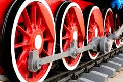 Free Wheels Of Steam Locomotive Stock Photo - 26138380
