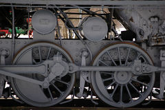 Free Wheels Of The Old Steam Train Royalty Free Stock Photography - 13859387