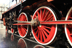 Wheels of old train Royalty Free Stock Image