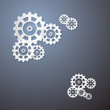 Wheels Paper Background Stock Photography