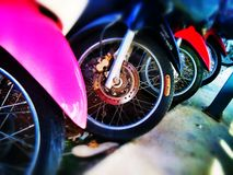 Wheels Stock Image