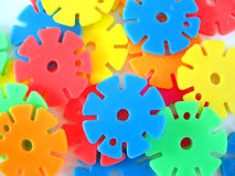 Wheels - plastic toys Stock Photo