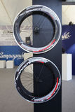 Wheels for racing bike Stock Photo