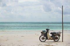 Wheels on Sand Stock Photo