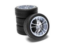 Wheels set Stock Image