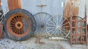 Wheels and spokes Stock Photos