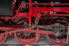 Wheels Steam Locomotive Harz Royalty Free Stock Images