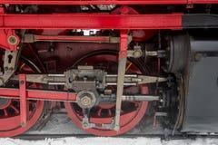 Wheels Steam Locomotive Harz Germany Royalty Free Stock Photo