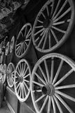 Wheels - Takayama Japan Stock Image