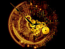 Wheels of time Royalty Free Stock Photography