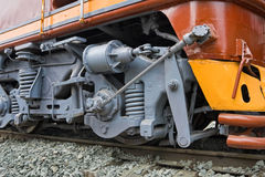 Wheels of the Train Stock Image