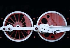 Wheels on a train Stock Photo