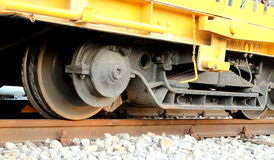 Wheels of train royalty free stock images