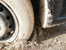 Wheels VS Mud Royalty Free Stock Images