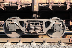 Wheelset (rail transport) Royalty Free Stock Images